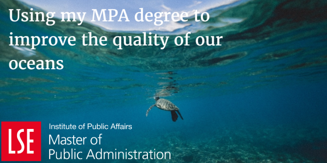 Using my MPA for Waste & Hope