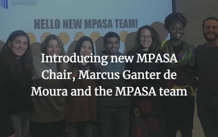 Introducing 2019-2020 MPASA Chair, Marcus Ganter de Moura