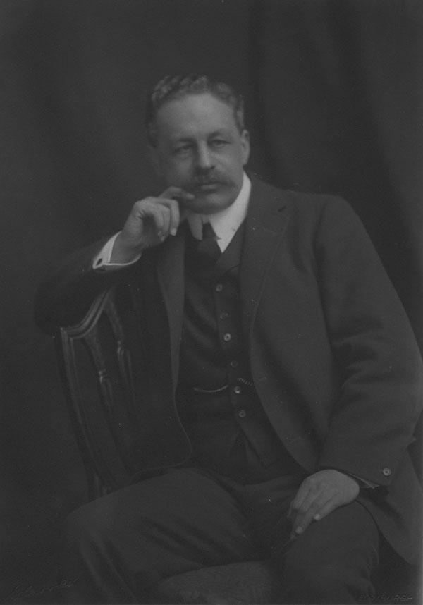 Sir Halford Mackinder. Sir Halford Mackinder c1910. IMAGELIBRARY/117. LSE