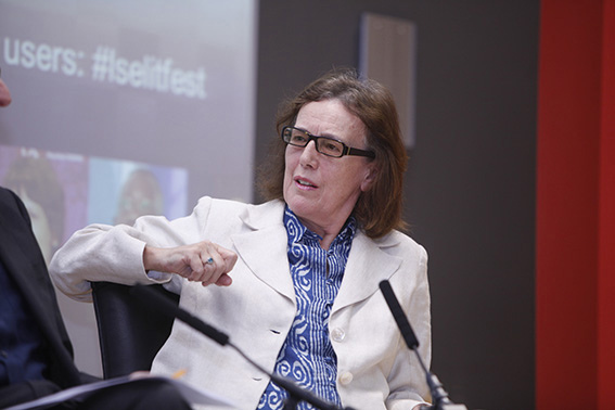 Claire Tomalin at the LSE Space for Thought Literary Festival, 2012