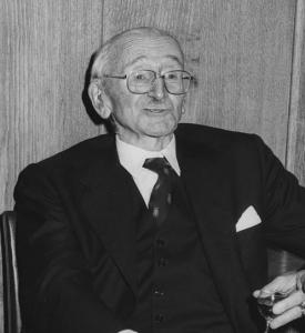 Friedrich August von Hayek, 1981
