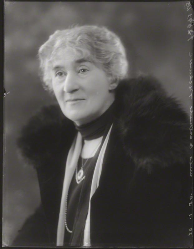 Gertrude Mary Tuckwell by Bassano Ltd, 1930. NPG
