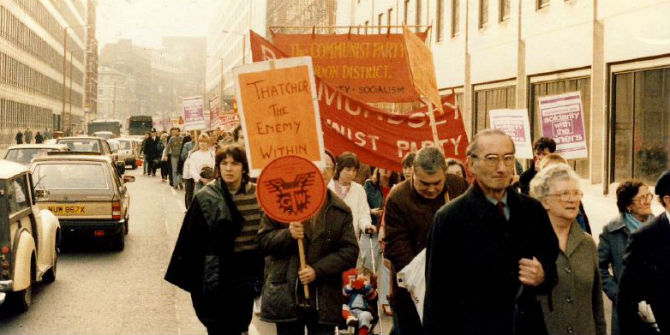 Women's Library@LSE archive – women and the Miners' Strike