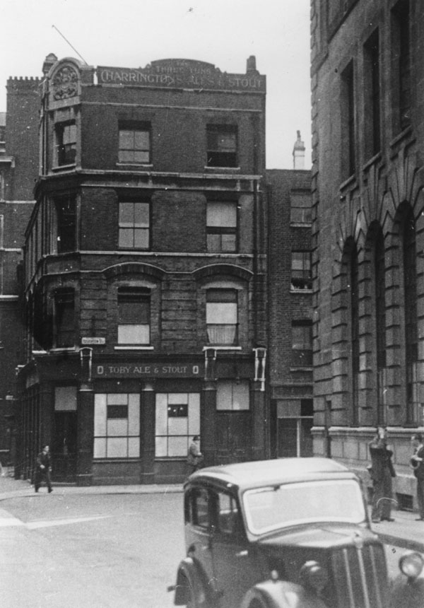 The Three Tuns, at the corner of Clare Market and Houghton St. Credit: LSE Library