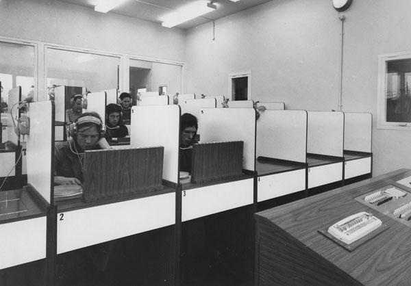 The New Language Laboratory, Clare Market, 1970