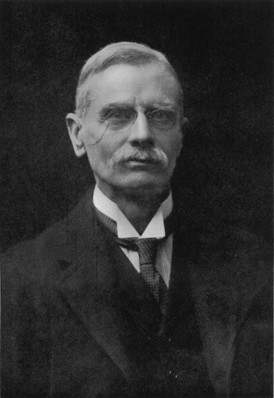 Herbert Foxwell, 1917 by Walter Stoneman. ©NPG