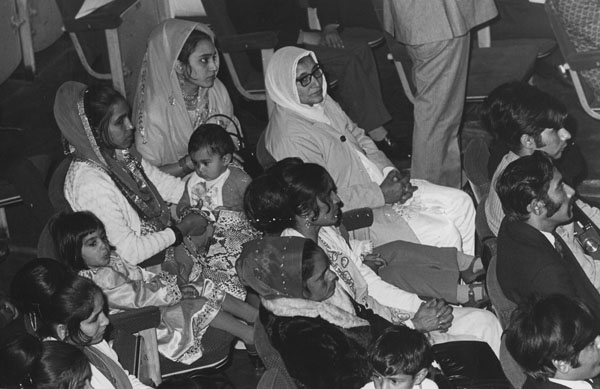 Audience in the Old Theatre at the Presentation of portrait of Dr B R Ambedkar by the Dr Ambedkar Memorial Committee, Great Britain, 25 September 1973. IMAGELIBRARY/652. LSE