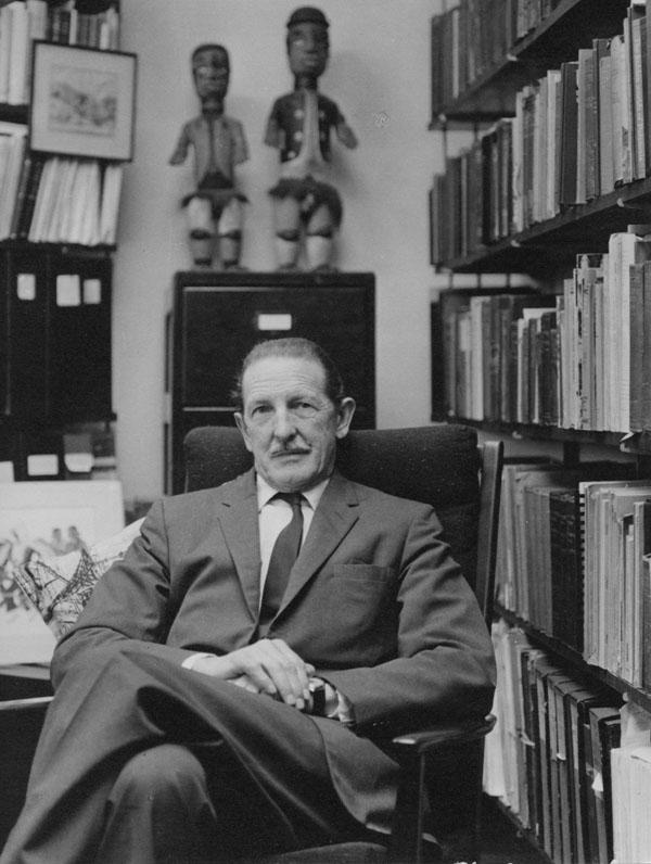 Professor Sir Raymond Firth c1965. IMAGELIBRARY/573. LSE