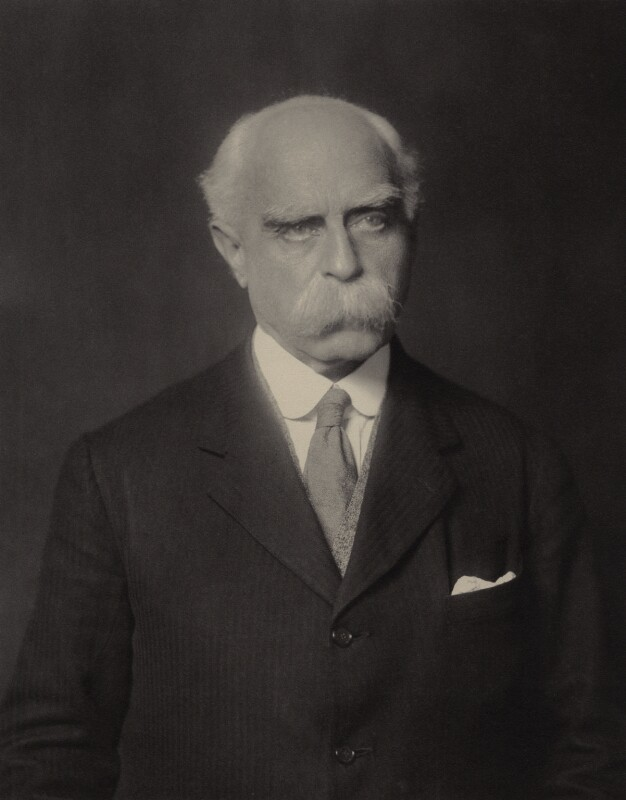 Sir Francis Younghusband by Walter Stoneman 1929. Credit: National Portrait Gallery