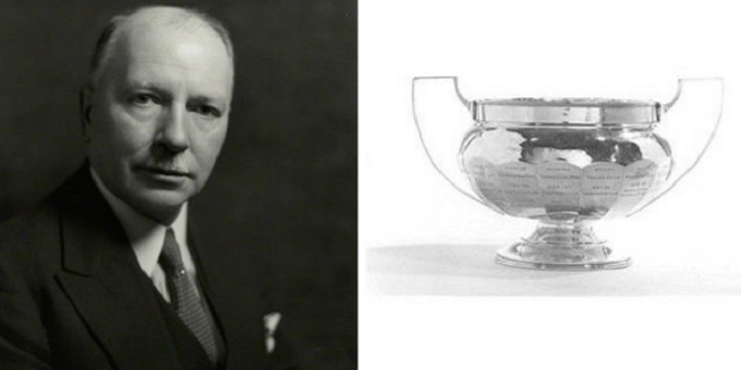 Sporting prowess – The Ernest Cornwall Cup