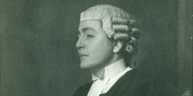 Enid Rosser Locket – an early female barrister