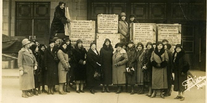 The archive of the Women's International League for Peace and Freedom (WILPF)