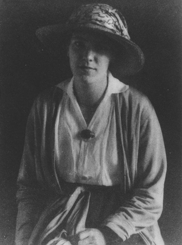 Eileen Power 1922. IMAGELIBRARY/249. LSE