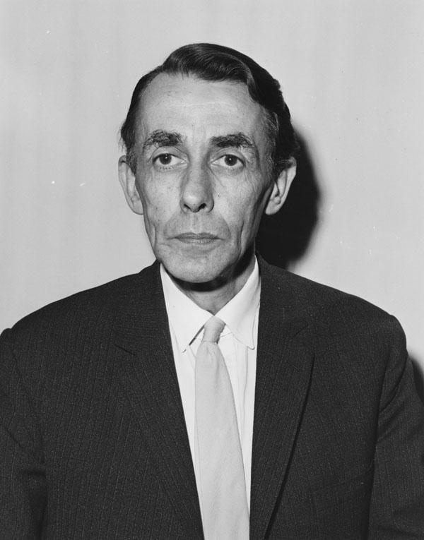 Richard Morris Titmuss, c1960s. IMAGELIBRARY/735. LSE
