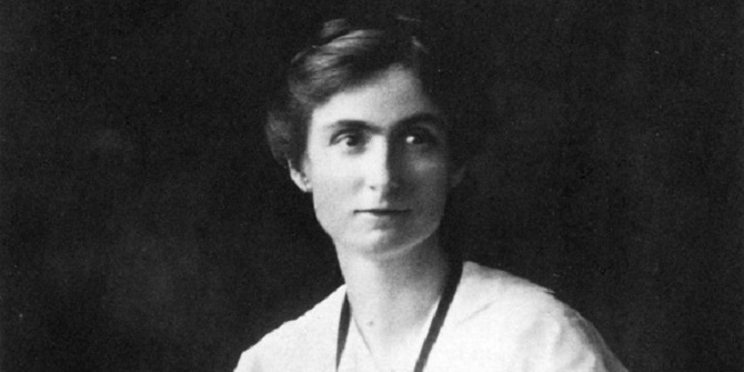 Edith Abbott – pioneering American academic