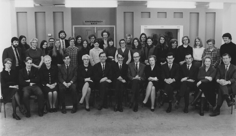 Department of Social Science and Administration, 1971. IMAGELIBRARY/234. LSE