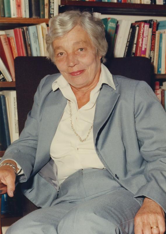 Susan Strange, c1990s. IMAGELIBRARY/1008. LSE