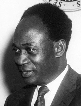 Kwame Nkrumah, 1961. Credit: Abbie Rowe via Wikimedia Commons