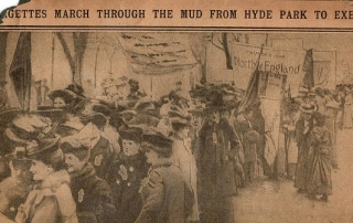 Mud march