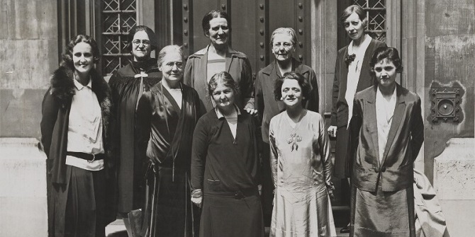 #LSEWomen in the Commons – a history of female LSE graduates elected to the House of Commons