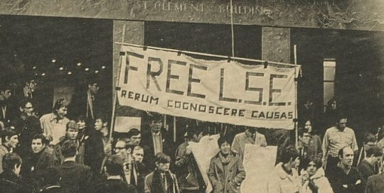 Red flag over Houghton Street? The radical tradition at LSE - myth, reality, fact