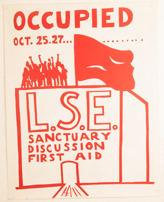 LSE Occupied poster