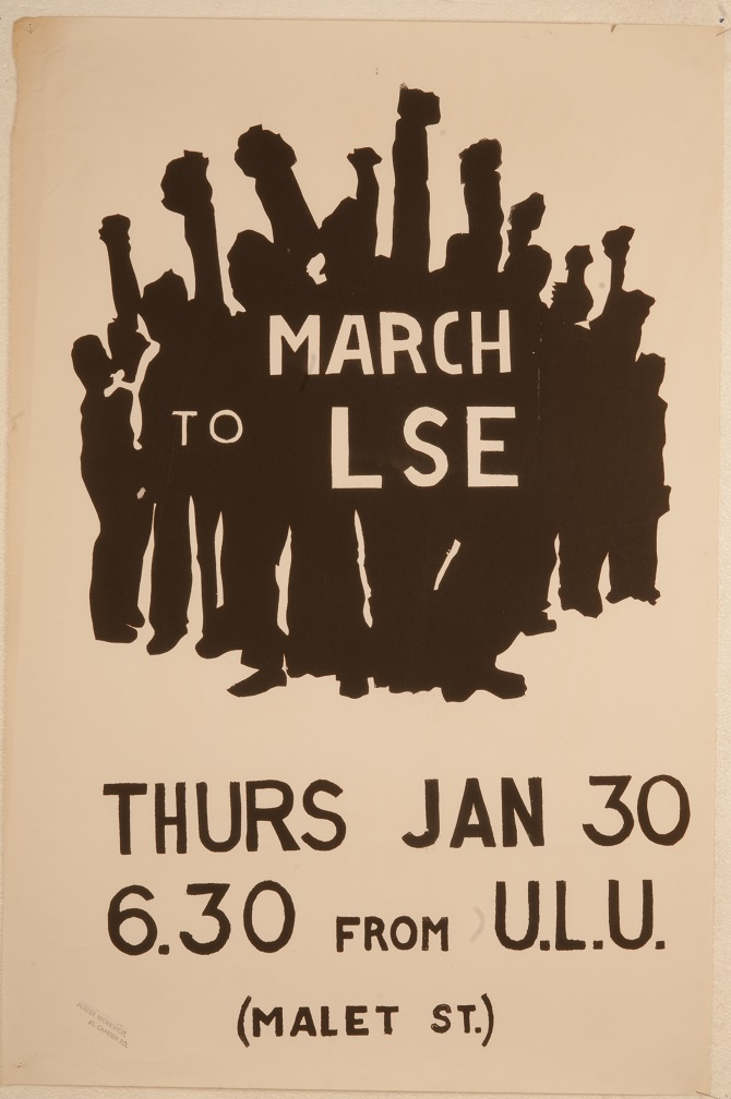 March to LSE poster