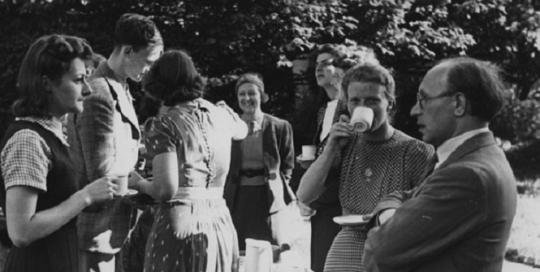 Unfailing equanimity - Eve Evans, School Secretary 1940-1954