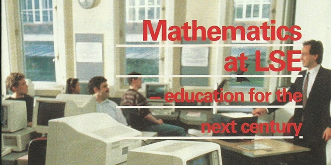 A brief history of Mathematics at LSE – part two 1988-1998