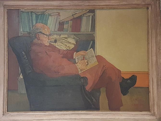 Portrait of R H Tawney