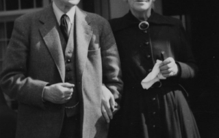Lord and Lady Beveridge, 1957