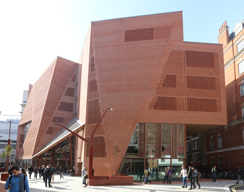 Saw Swee Hock Student Centre 2014. Nigel Stead/LSE