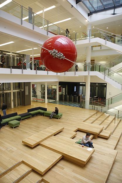 ElenchusAporia in NAB atrium. LSE/Nigel Stead