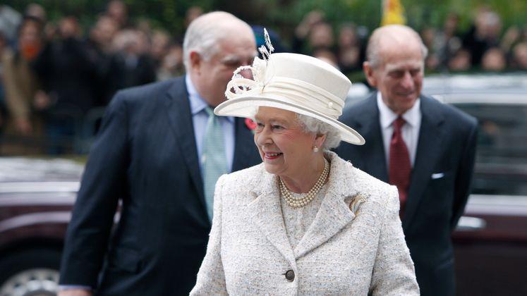 Queen opens NAB 2008. LSE/Nigel Stead