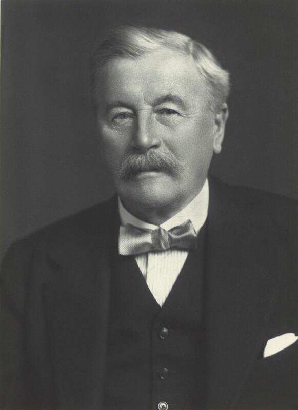 Sir William Acworth, 1925 by Walter Stoneman ©NPG