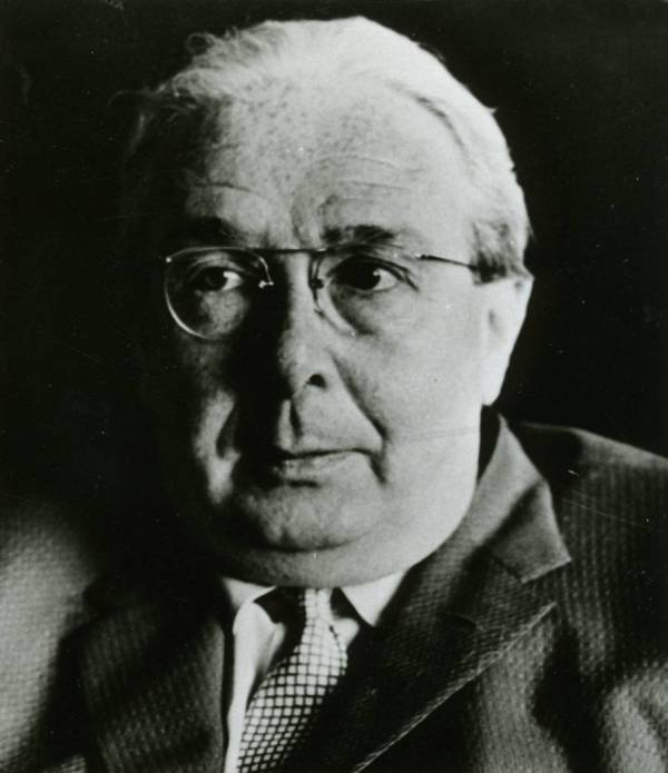 Leo Szilard credit the Ava Helen and Linus Pauling Papers, Oregon State University Libraries
