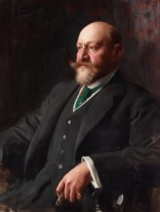 Sir Ernest Cassel by Anders Zorn, 1907.