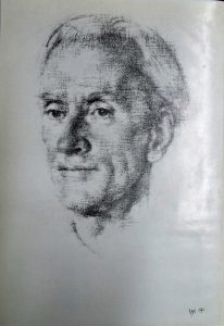 C A W Manning from a drawing by Jesse Cast.