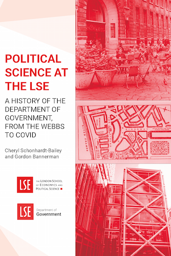 """Cover of """"Political Science at the LSE"""""""