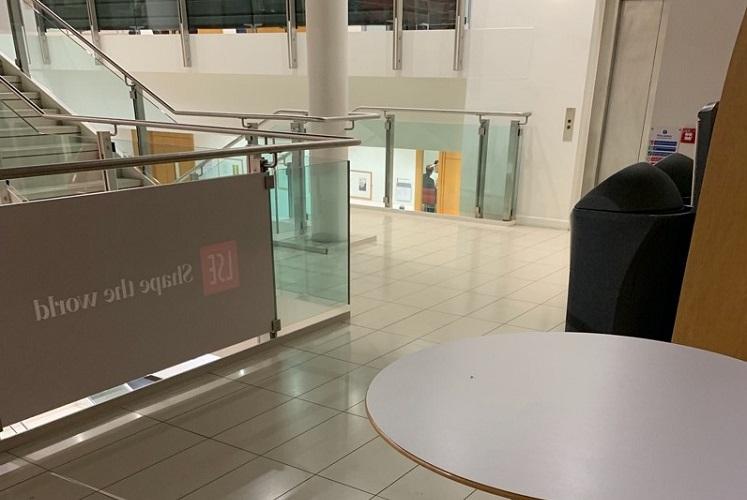 LSE Staircase Landings – New Academic Building