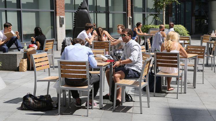 Plaza Cafe at LSE