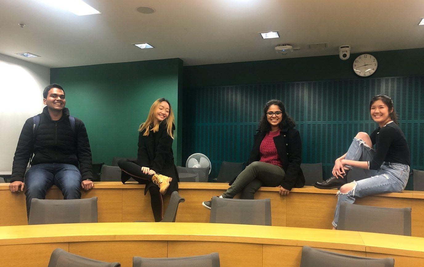 MSc Marting students at LSE