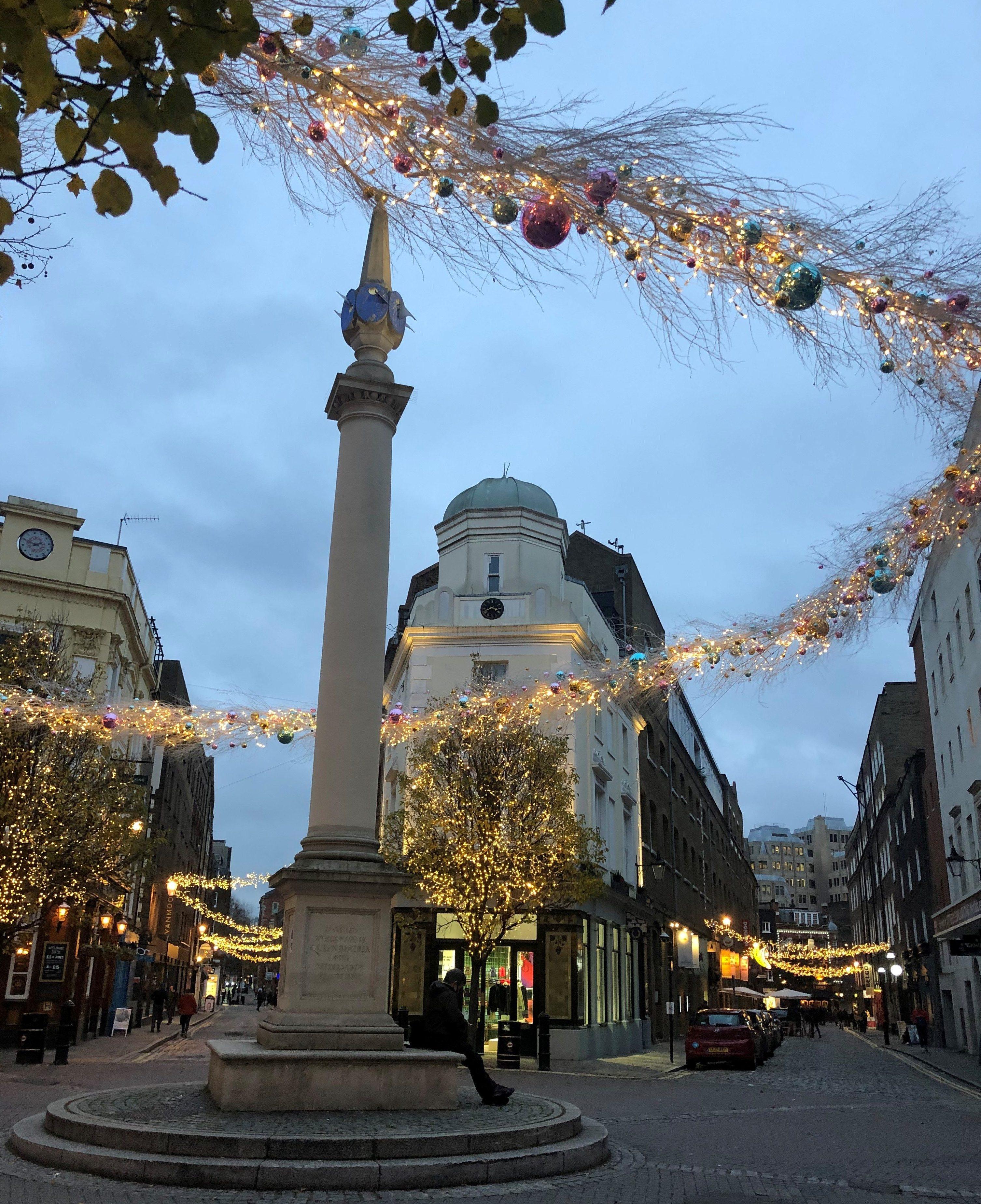 Covent Garden - Seven Dials at Christmas