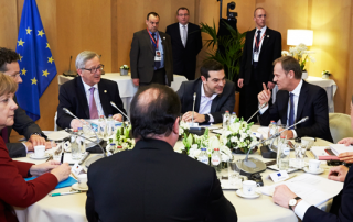 EU leaders meet (Credit: European Council President)