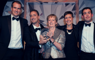 The ECREP Team Winning Market Research Society for Best International Research in December 2014.
