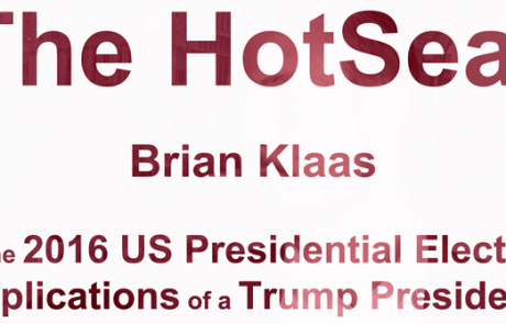 HOTSEAT: Brian Klaas on the 2016 US Presidential Election & Implications of a Trump Presidency