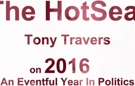 HOTSEAT: Tony Travers on 2016, An Eventful Year In Politics