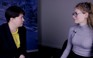 LSEUPR speak to Ruth Davidson MSP