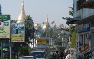 Myanmar street scene