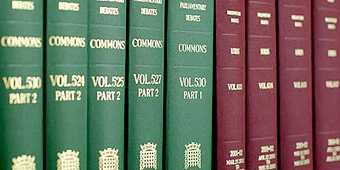 Democratising Hansard: continuing to improve the accessibility of parliamentary records